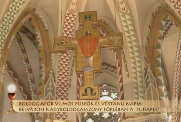 Szentmise a budapesti Belvárosi Nagyboldogasszony Főplébániáról: Kerényi Lajos