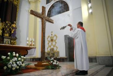 Debrecenben a missziós kereszt