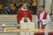 Szentmise a máriabesnyői Nagyboldogasszony bazilikában: Dr. Fábry Kornél