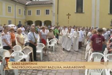 Szentmise a máriabesnyői Nagyboldogasszony bazilikában: Marinko Šakota