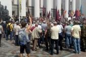 Összecsapás lett a tüntetésből