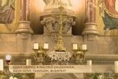 Szentmise a budapesti Jézus Szíve-templomból: Horváth Árpád