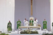Pápai szentmise Kaunasban