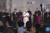 Ökumenikus találkozón a pápa