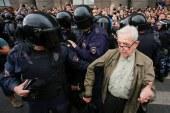 Tüntettek az oroszok