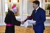 Átadta megbízólevelét a nuncius