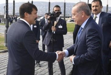 Hazánkba látogatott Erdogan