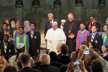 Ferenc pápa beszéde a Ground Zeronál