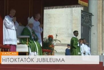 Hitoktatók jubileumi szentmiséje a Szent Péter téren
