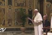 Egyetemek képviselőit fogadta Ferenc pápa