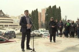 Újabb tiltakozás Csíkszeredán