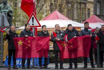 Budapesten Kína vezetője