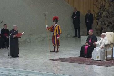 Folytatta katekézissorozatát a pápa