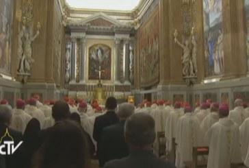 Hálaadó szentmise a Vatikánban