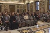 Missziós nővérek a pápánál
