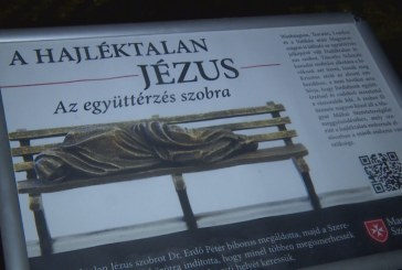 Kalocsán a Jézus szobor
