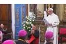 Püspökökkel találkozott a pápa