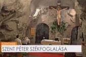 Szentmise a  Sziklatemplomban: Puskás Róbert Antal