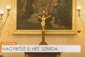 Szentmise a kartali Szent Erzsébet templomból