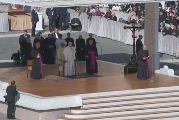 A Miatyánk imáról szólt a pápa