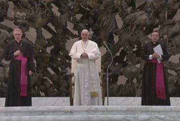 A szentmiséről szólt a pápa