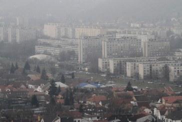 Szmogtól szenved több város