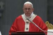 Pünkösdi szentmise a Vatikánban